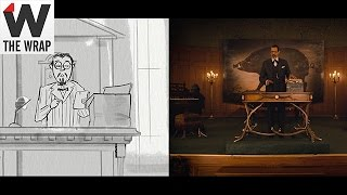 'The Grand Budapest Hotel' Storyboard Animatics