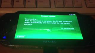 How to: Updating the PS Vita to a specific Firmware