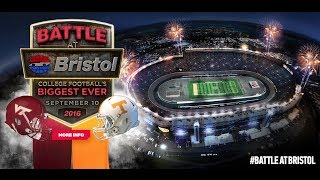 Battle at Bristol - University of Tennessee vs. Virginia Tech at Bristol Motor Speedway