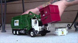 First Gear Wittke Front-Loader Garbage Truck with Custom Accessories