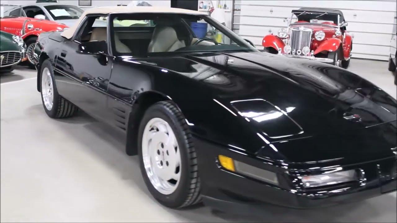 Corvette 1994 chevy corvette : 1994 Chevy Corvette black TC - YouTube