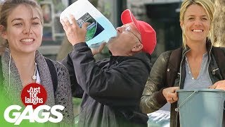 Best of Disgusting Pranks   Just For Laughs Compilation