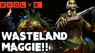 EVOLVE WASTELAND MAGGIE GAMEPLAY - NEW ADAPTATIONS!! Evolve Gameplay Walkthrough (XB1 1080p)