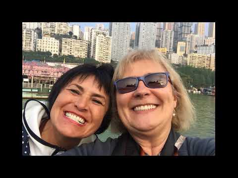 3 Gorges Dam River Cruise, Yangtzy River, China, 2017