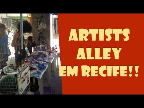 Artists Alley em Recife! - AdQ entrevista!!