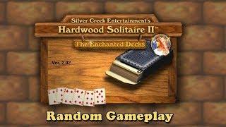 Hardwood Solitaire II: The Enchanted Decks - Random Gameplay