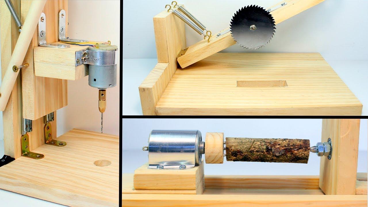 3 herramientas caseras para madera youtube - Cosas de madera para hacer ...