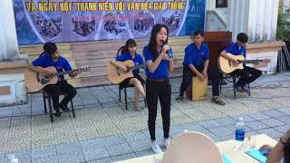 Nữ sinh cover Guitar Giấc Mơ Thần Tiên hay hơn cả Miu Lê