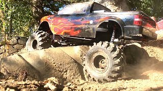 "RC ADVENTURES - MEGA TRUCK w/14"" LiFT on 54""s - TRAXXAS TRX4 1/10 Scale MONSTER TRAiL TRUCK"