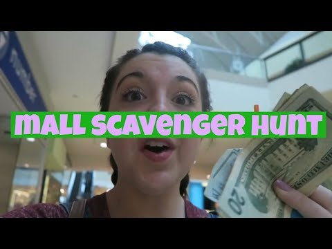 HUGE MALL SCAVENGER HUNT!