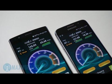 Test: Telekom LTE Max (LTE-Advanced) mit LG G4 und Samsung Galaxy S6