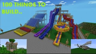 minecraft build things