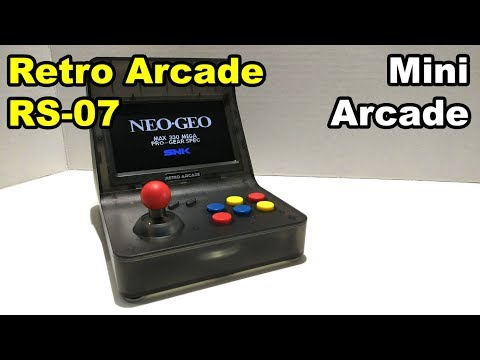 CoolBaby Portable Retro Arcade Mini RS 07 Neo Geo