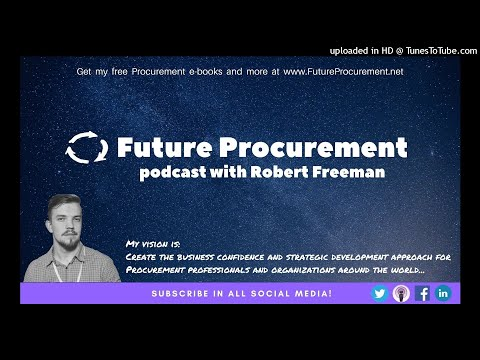 Podcast 038 Digital learning and development for Procurement (with David Rajakovich)