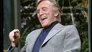 Kirk Douglas appearance on The Tonight Show Starring Johnny Carson  - pt. 2 - 10/24/1973