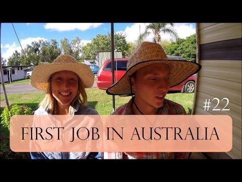 FIRST JOB IN AUSTRALIA AS A COUPLE - GATTON RURAL FARM WORK AREA - Worldtravel Adventure Vlog #22