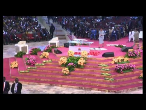 Bishop David Oyedepo:Sunday LIVE-Anointing Services Jan 17,2016
