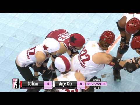 D1 Game 6: Gotham Girls Roller Derby v Angel City Derby Girls