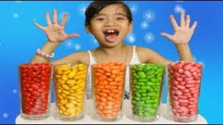 Baby Learn colors with candy songs nursery rhymes for Children and Toddlers