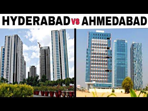 AHMEDABAD Vs HYDERABAD Full View Comparison (2018)  Plenty Facts   Ahmedabad City  Hyderabad City  
