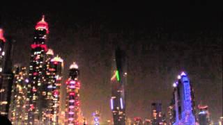 Dubai Marina at Night ドバイマリーナ夜景 Dubai Marina al atardecer 8