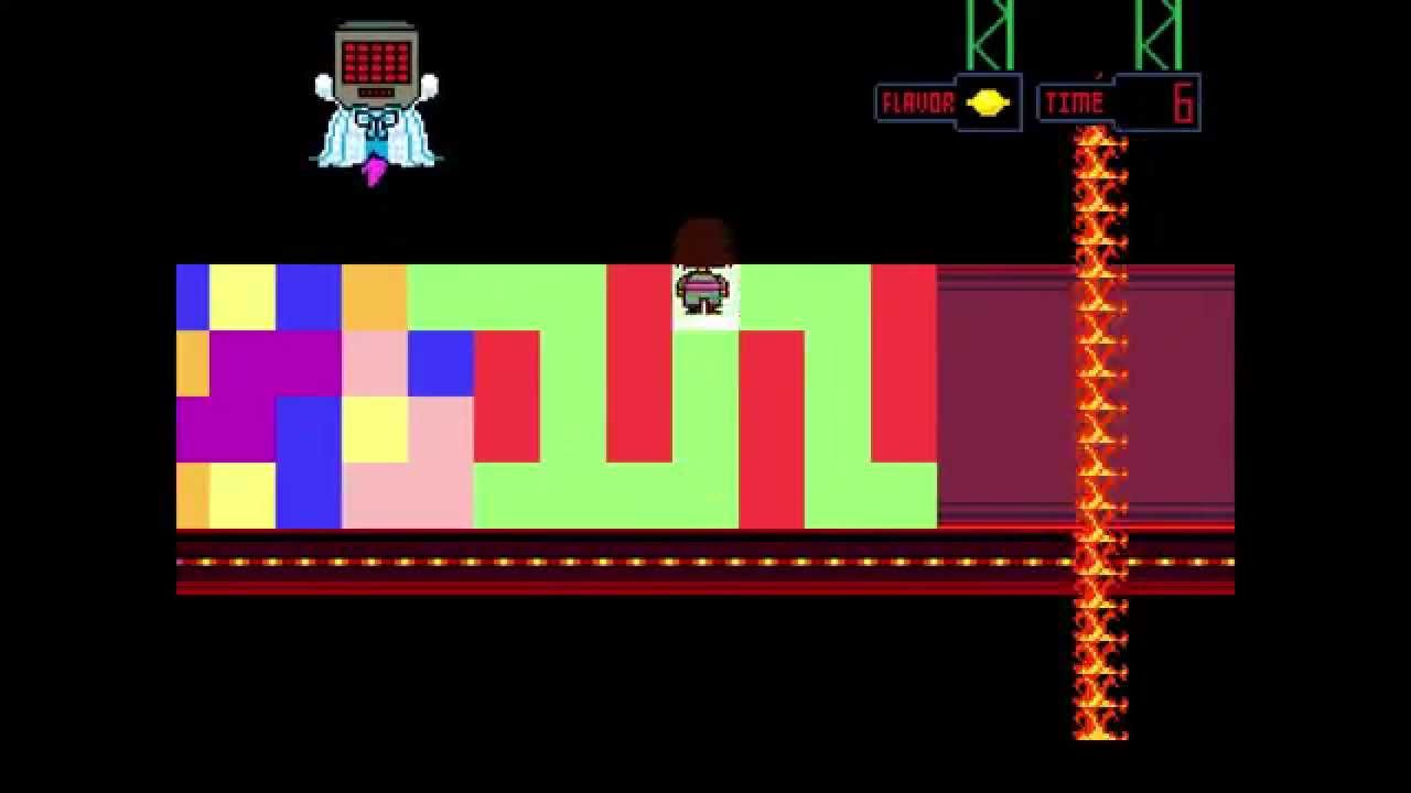 Undertale Mettaton Color Tile Puzzle Completed Youtube