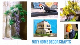 My 5 DIY Home Decor Models  || Home decoration ideas ||