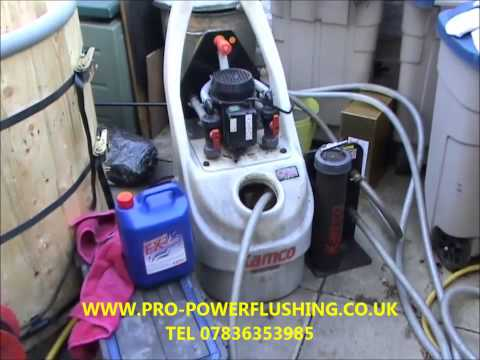 powerflush swinton central heating