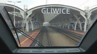 4K Cabview 27WEb-002 Dąbrowa Górnicza Ząbkowice - Gliwice  + sound - 17.02.2017