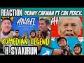 REACTION  Angel- Denny Caknan feat Cak Percil (Official music video)