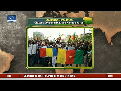 Cameroon Citizens Condemn Maurice Kamto's Arrest |Network Africa|