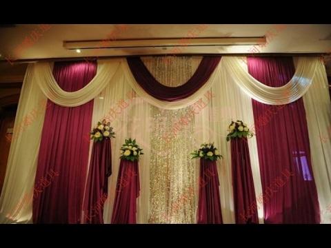 Wedding Stage Background Decoration Youtube