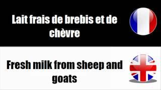 [Français - Anglais] Produits des animaux d'élevage