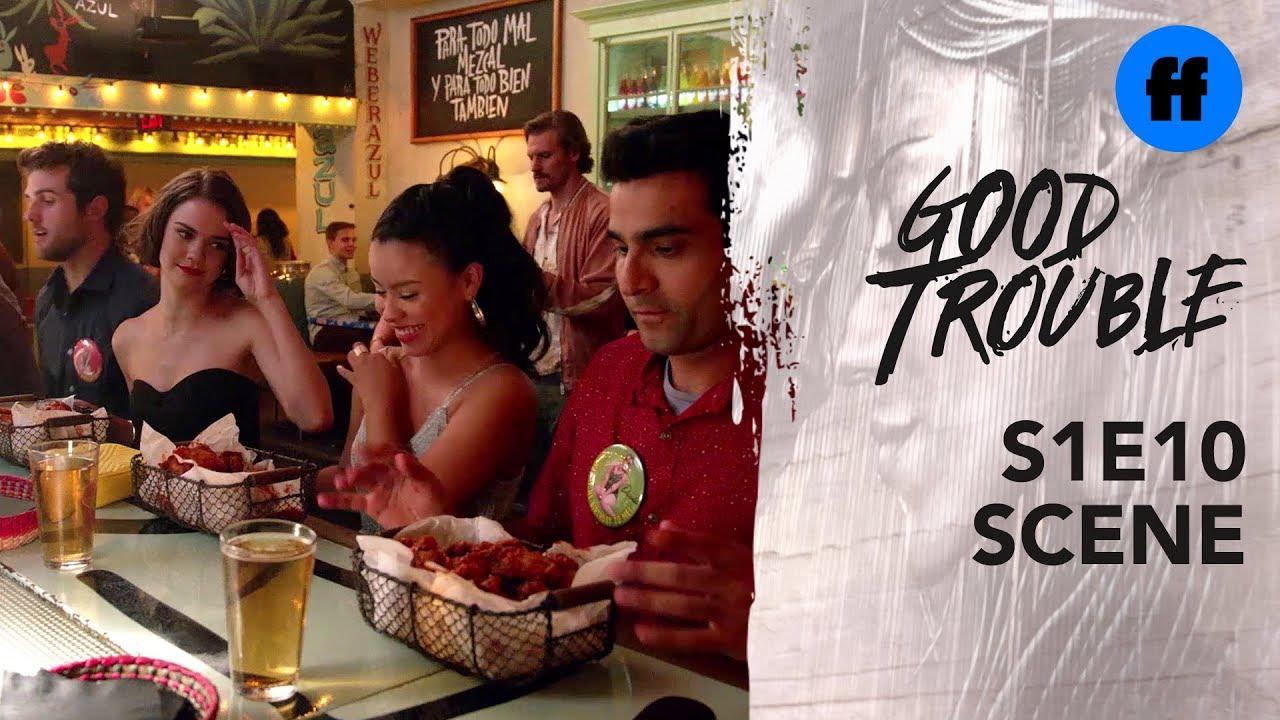 Download Good Trouble Season 1, Episode 10   The Coterie Hot Wings Showdown   Freeform