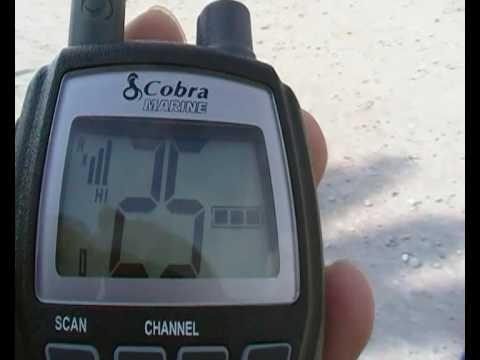 Cobra HH125 Monaco Radio