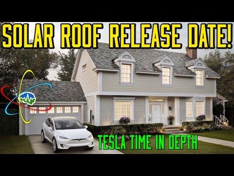 In Depth - Solar Roof Release!