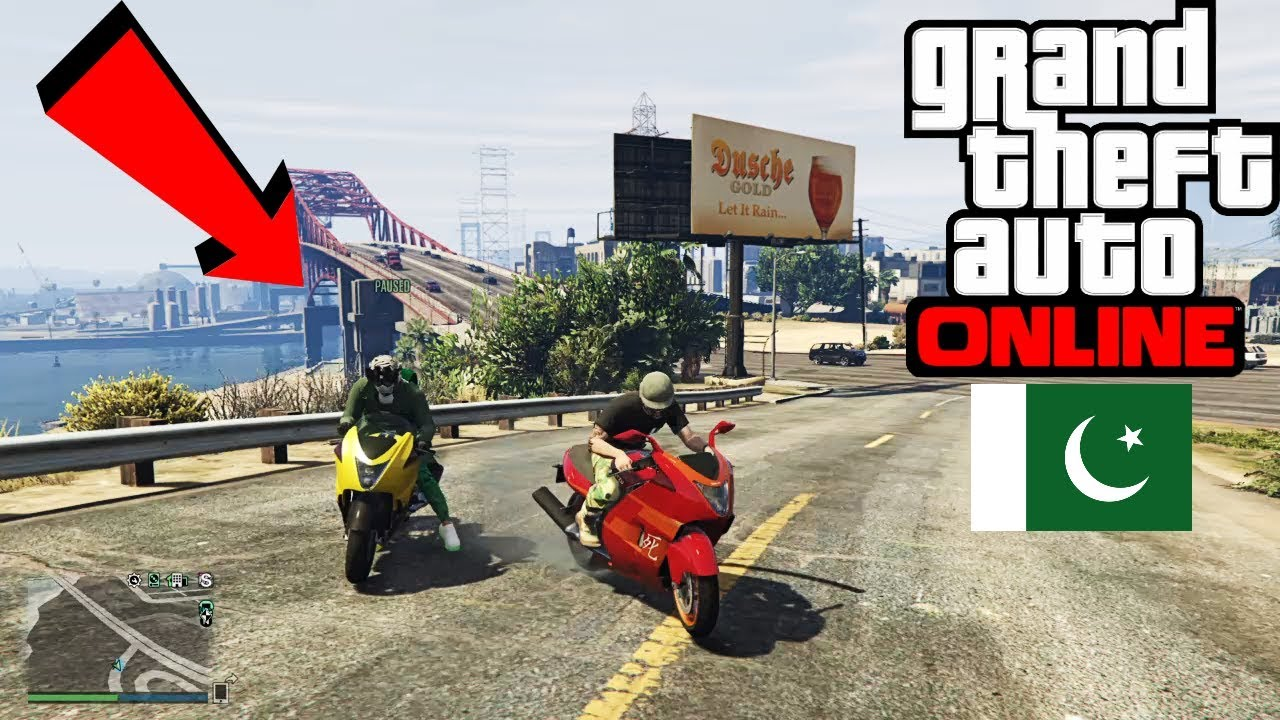 GTA V Online Real Life - Pakistani Crew in Gta Online Servers, New Bikes and Guns | Gta 5 Pakistan