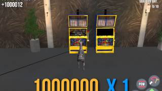 [Goat Simulator] Play Slot Machine to Blow TNT, then get Jackpot a few times.
