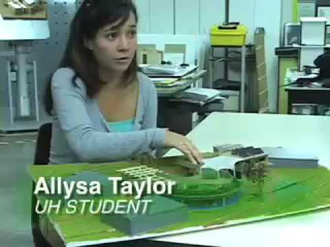 Green architecture from University of Hawaii students