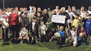 """U 21 hilft"" Manuel Neuer Kids Foundation!"