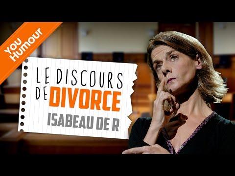 Isabeau de R - Le discours de divorce