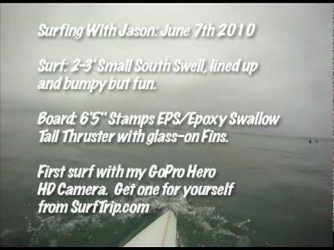 Surfing with Jason - GoPro Hero HD Surf Camera