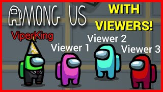 🔴 LIVE! 🔴 Among Us with Viewers! | Mobile and PC Can Join! | Among Us Stream!