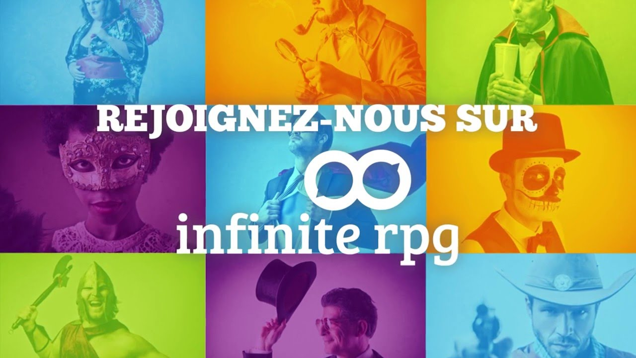 INFINITE RPG : Le projet de réseau social pour rôlistes et passionnés de jeux de rôle textuels