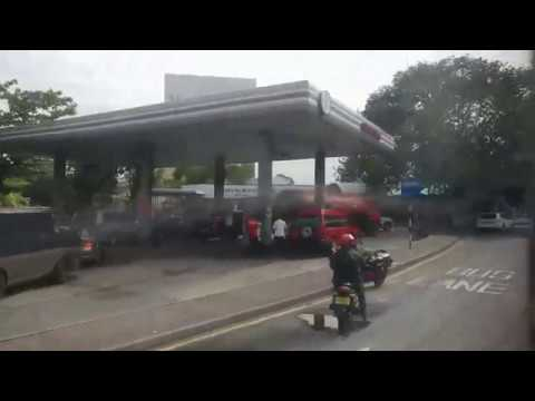 Petrol Crisis in Sri Lanka: Queue in Fuel stations following the shortage for days...