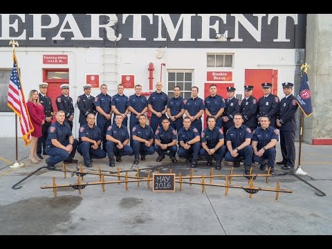 Fresno Fire recruit class of May 2016