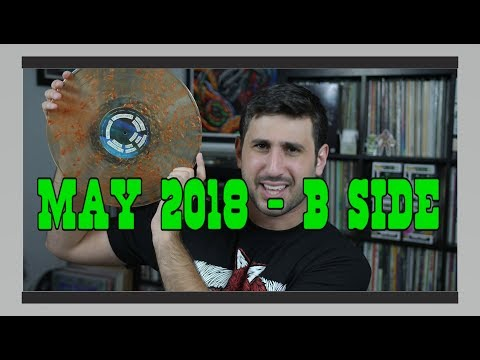 Vinyl Haul/Record Reviews: May B-Side 2018 (GIVEAWAY!)