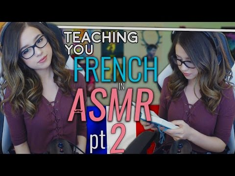 Soft Spoken ASMR French Lesson ❤ Teaching you French Part 2