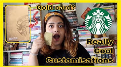 How to get the GOLD card + Guide to the perfect Starbucks drink