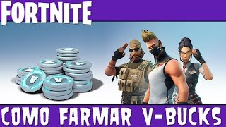 Fortnite - Como Farmar V-Bucks